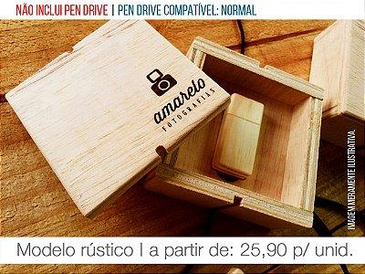 Caixa p/ Pen Drive - Modelo 1