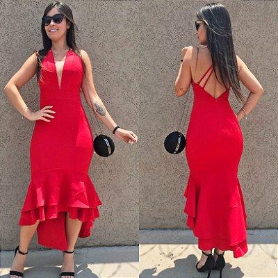 Vestido vermelho fatal