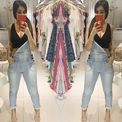 Macacão Sabóia jeans claro