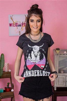 Camiseta Feminina Wanderslust