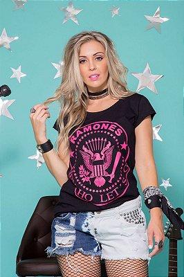 Camiseta Feminina Ramones