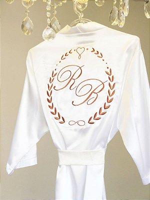 Robe de Cetim - Personalize como quiser