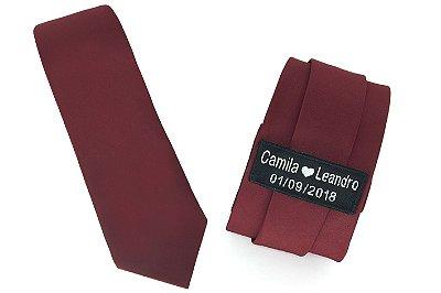 Gravata Personalizada Tradicional - Diversas Cores
