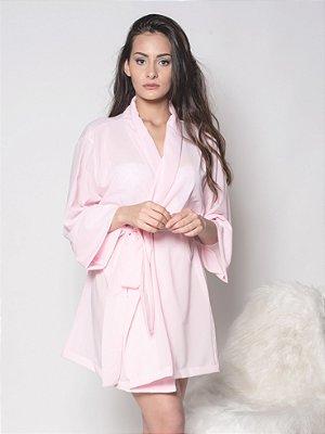 Kimono Rosa Candy - Crepe