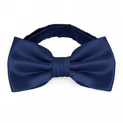 Gravata Borboleta Azul Marinho