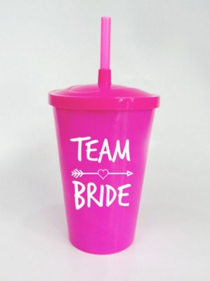 Copo Team Bride Rosa