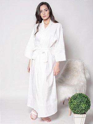 Robe Tradicional Longo - Branco