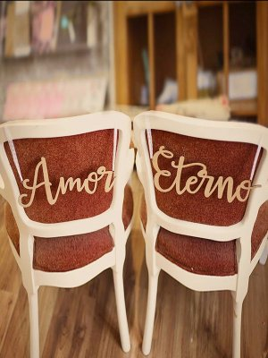Placa - Amor Eterno