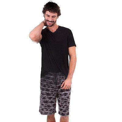 5341edb18 Pijama Curto Masculino em Algodão - Inspirate