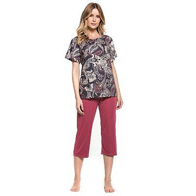 4b0a87569 Encontre Pijama canelado com abertura de botão