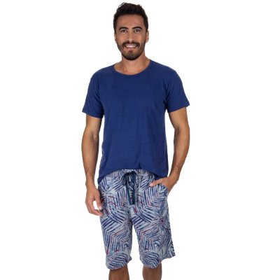 Pijama Curto Masculino Spring
