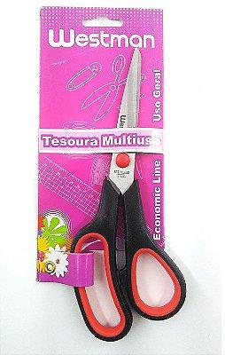 """Tesoura Cabo Soft 7 ½"""" – 19 cm"""