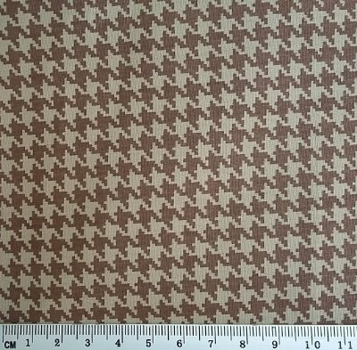 Tecido Tricoline Estampa Pied Poule - Preço de 50 cm x 150 cm