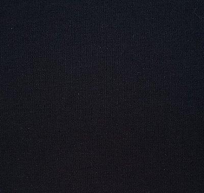 Tecido Tricoline Lisa Preto 100% Algodão - Preço de 50cm x 150cm