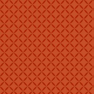 Tecido Tricoline Treliça Tomate Laranja - 50cm x 150cm