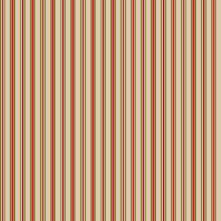 Tecido Tricoline Listrado da Índia Tijolo - 50cm x 150cm