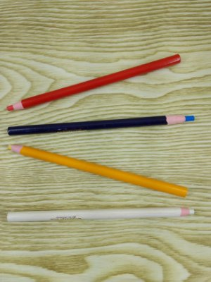 Giz - Lápis Ecológico - Marcador de Materiais para Costura