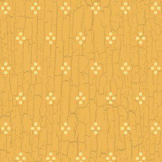 Tecido Tricoline Estampa Mini Bolinhas Craqueladas - Fundo Caramelo - 50cm x 150cm