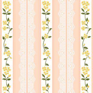 Tecido Tricoline Listrado Rendas Rosa - Coleção Paris - Preço de 50cm x 150cm