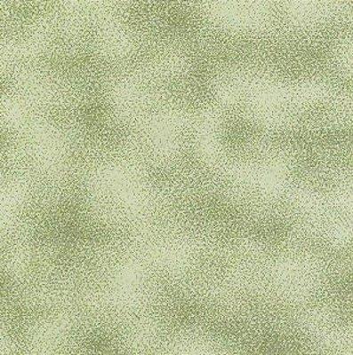 Tecido Tricoline Poeirinha Musgo - Coleção Mini Elementos - (50 cm x 150 cm)