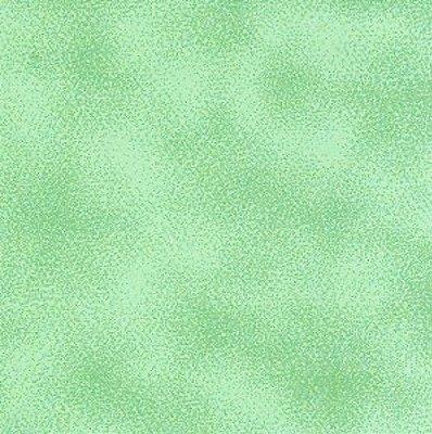 Tecido Tricoline Poeirinha Mint - Coleção Mini Elementos - (50 cm x 150 cm)