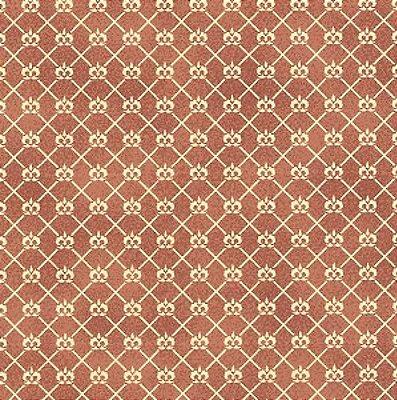 Tecido Tricoline Mini Coroa Açaí - Coleção Mini Elementos - (50 cm x 150 cm)