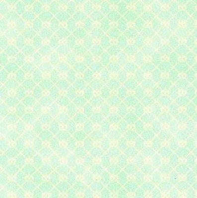 Tecido Tricoline Mini Coroa Piscina - Coleção Mini Elementos - (50 cm x 150 cm)