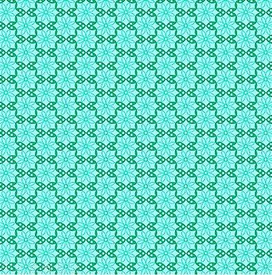 Tecido Tricoline  Estampa Floral Tiffany - Coleção Mourisco - 45 cm X 150 cm