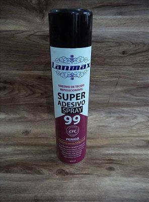 Cola Temporária 99 Spray - Adesivo Super Adesiva - Patchwork 600 ml
