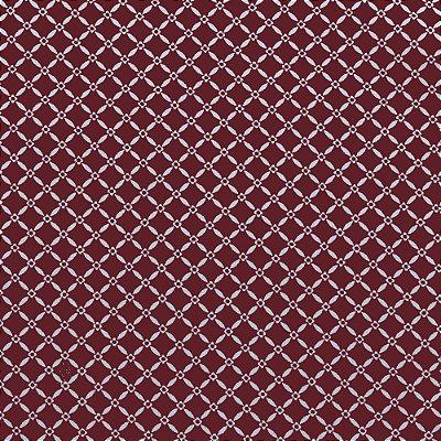 Tecido Tricoline Cerquinha Florida Vinho - 50cm x 150cm