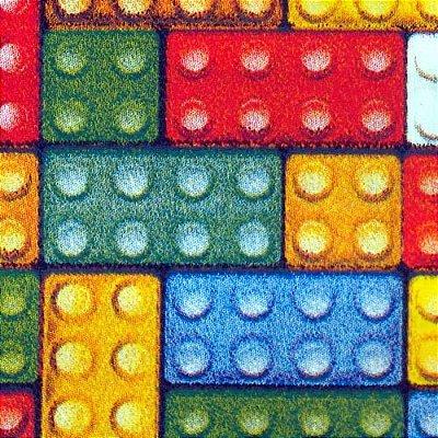 Tecido Tricoline Lego - Corte Mínimo de 50cm x 150cm