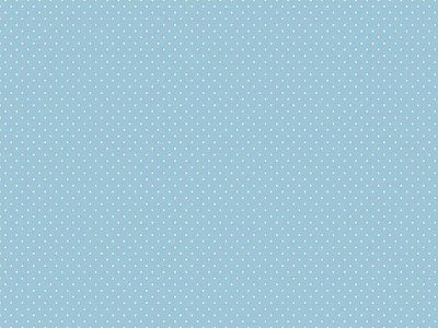 Tecido Tricoline Estampa Micro Poá Azul Céu - Corte Mínimo de 50 cm x 150cm