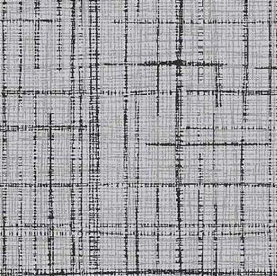Tecido Tricoline Textura Riscada Cinza - Coleção Neutro Tom Tom (50 cm x 150 cm)
