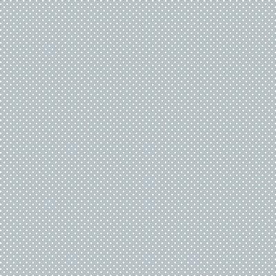 Tecido Tricoline Estampa Micro Poá Azul Fog - Preço de 45 cm x 150cm
