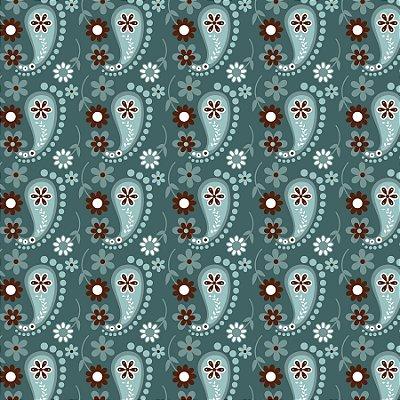 Tecido Tricoline Cashmere Jade- Coleção Mundo Cashmere - 50 cm X 150 cm