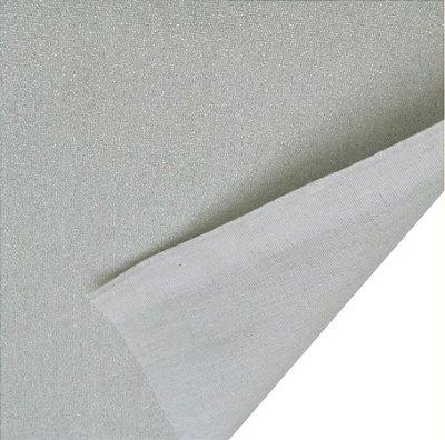 Tecido Metalizado Térmico Aluminizado p/ Tábua de Passar (normal) -50 cm x 150 cm
