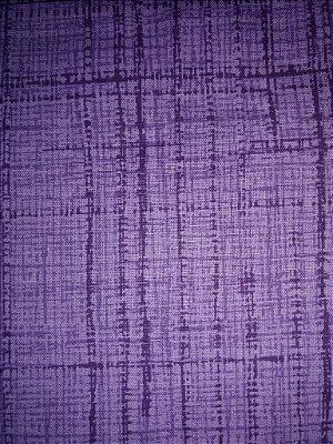Tecido Tricoline Textura Riscada Roxo - Coleção Neutro Tom Tom (50 cm x 150 cm)