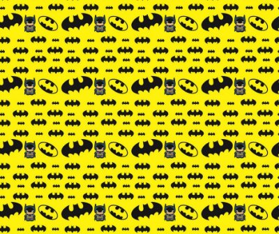 Tecido Estampa Exclusiva de Personagens - Batman - 100% poliéster - 80cm x 120cm ou 80cm x 60cm