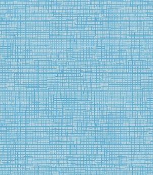 Tecido Tricoline Textura Riscada Azul Claro 100% Algodão - Preço de 50cm x 150cm