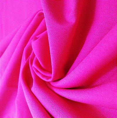 Tecido Tricoline Lisa Rosa Pink - Preço de  50 cm x 150 cm