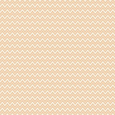 Tecido Tricoline Estampa Chevron Creme com Pêssego (Salmão) - Preço de 50 cm x 150 cm