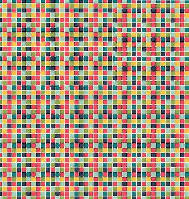 Tecido Tricoline Estampa Listrado Multicores - 50 cm x 150 cm