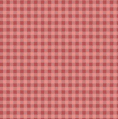 Tecido Tricoline Estampa Xadrez Rosa Antigo - Preço de 50 cm x 150cm