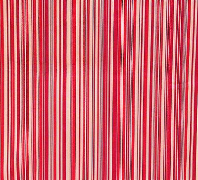 Tecido Tricoline Estampa Listrada Tons de Vermelhos - Creme, Vermelho e Vinho - Preço de 50 cm x 150 cm