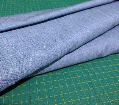 Tecido Estilo Jeans Médio - 65% Algodão e 35% Poliéster - Preço de 50 cm X 160 cm - LEIA DESCRIÇÃO