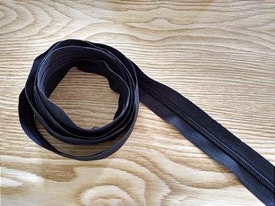 Zíper Grosso nº 5 (3 cm) - Azul Marinho - Preço de 50cm