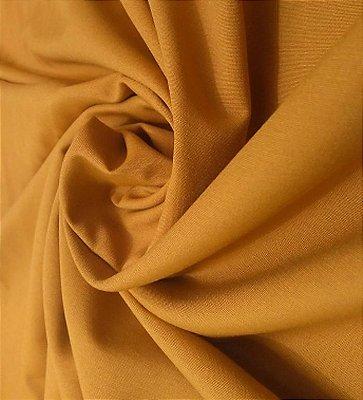 Tecido Tricoline Lisa Marrom Caramelo - Preço de  50 cm x 150 cm