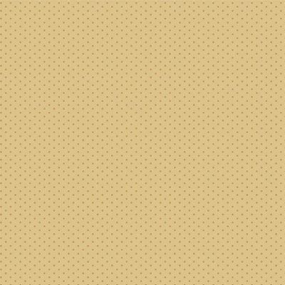 Tecido Tricoline Micro Poá Doce de Leite - Fundo Bege - Preço de 50 cm x 150cm