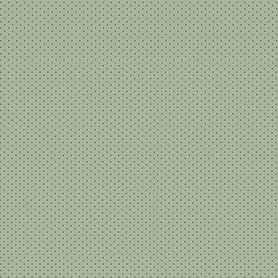 Tecido Tricoline Micro Poá Verde Musgo - Fundo Verde Claro - Preço de 50 cm x 150cm