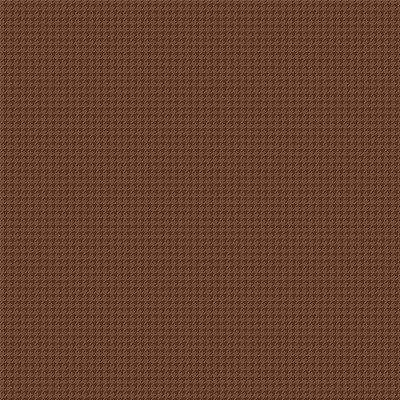 Tecido Tricoline Micro Pied De Poule Marrom - Fundo Marrom - Preço de 50 cm x 150cm